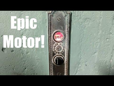 (Epic Motor) Vintage Otis Freight Elevator #2 in Minneapolis