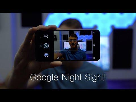 Google Night Sight on the Pixel 3 XL: Magic??