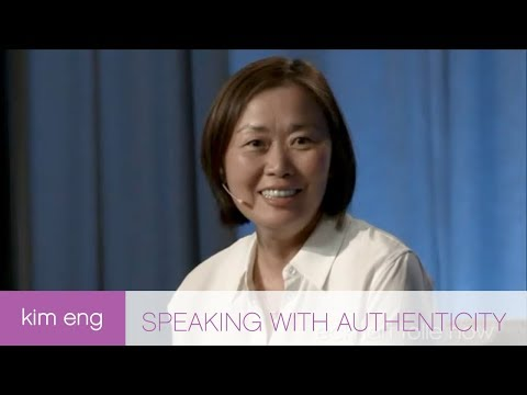 Speaking with Authenticity
