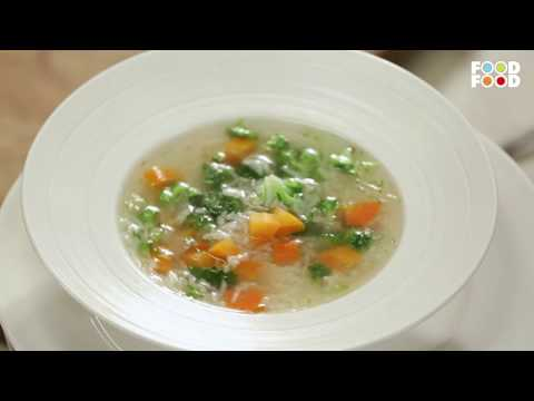 Vegetable soup | New Season | Cooksmart | Sanjeev Kapoor Khazana