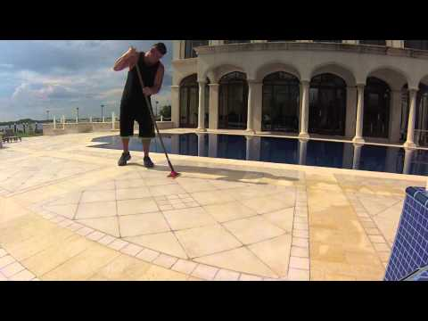 Pool Deck Ceramic Tile Non Slip