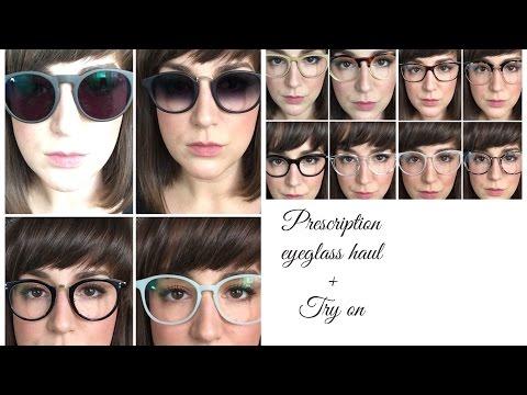 088f889434 EyeGlasses Haul and Try On- EyeBuyDirect