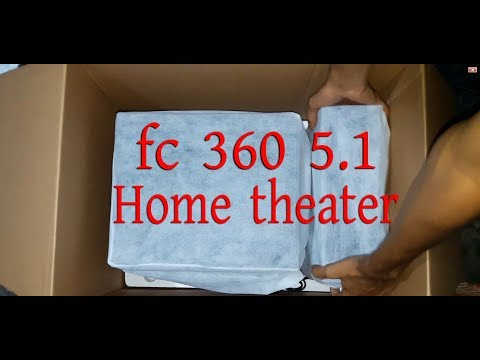 Microlab fc 360 ( 5 .1) Home theater  Unboxing  & Installation Guide