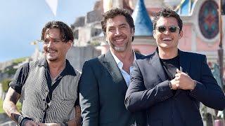 Pirates of the Caribbean 5 European Premiere - Johnny Depp, Kaya Scodelario, Orlando Bloom