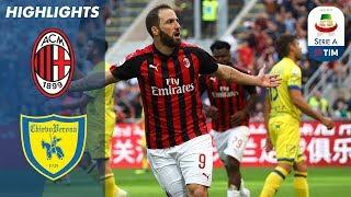 Milan 3-1 Chievo | Higuain Double Sees Rossoneri Past Chievo | Serie A