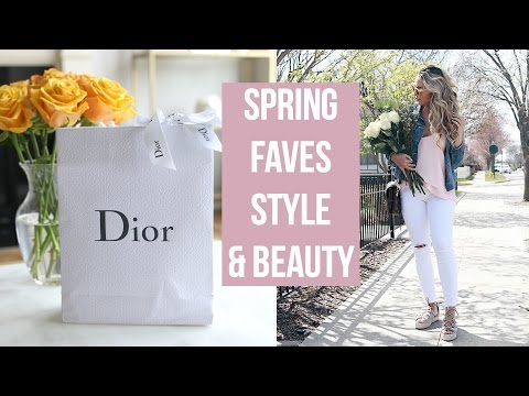 SPRING FAVORITES & DIOR HAUL! CLOTHES, SHOES, BEAUTY!