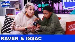 Raven-Symoné & Issac Ryan Brown: Magic 8 Ball Answers!