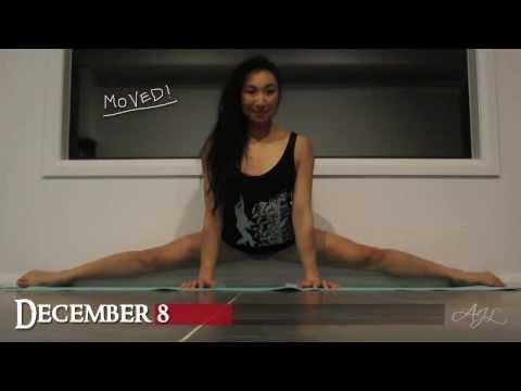 AJL Stretch: 30 Days of MIDDLE SPLITS (2013 December)