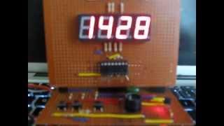 Amazoncom: DIY 4 Digit LED Electronic Clock Kit Large