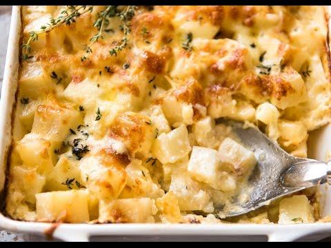 EASY Cheesy Potato Bake