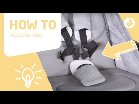 Maxi-Cosi | Laika stroller | How to adjust harness