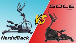Sole vs. NordicTrack Elliptical Machines  Differences Between Sole and NordicTrack Machines