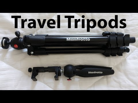 Best Travel Tripods - I Carry the Manfrotto Compact Light & Pixi Mini