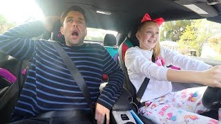 DRIVING WITH JOSH PECK!!!