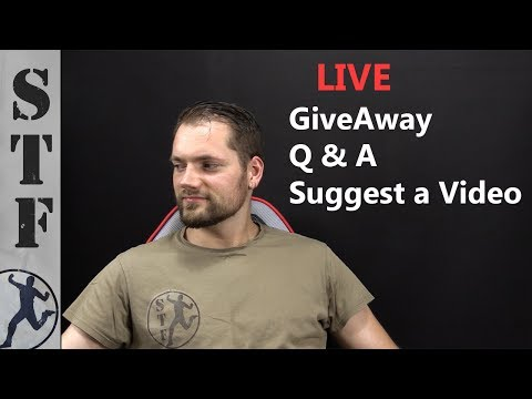 Q&A, GiveAway, Suggest a Video