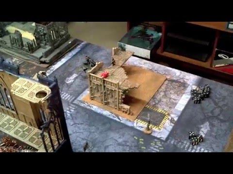 Warhammer 40k - Dark Eldar vs Deamons/CSM - Battle Report - 1850pts