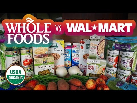 Whole Foods Is Cheaper Than Walmart | Organic Food Challenge