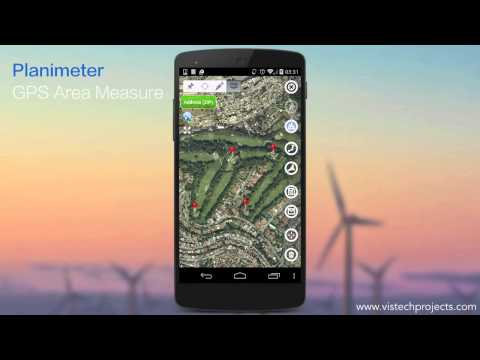 Planimeter - GPS Area Measure: add notes to your map measurements in new Notes Mode.