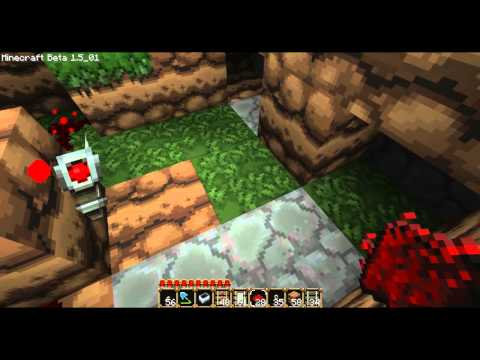 Minecraft How-To: Make Stops In A Minecart System