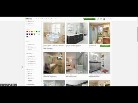 How to find design inspiration and organize ideas using Houzz.com