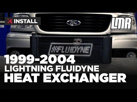 1999-2004 F-150 SVT Lightning Fluidyne Heat Exchanger - Install & Review