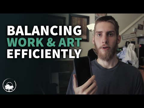How I Balance Work and Art - Time Management for Artists