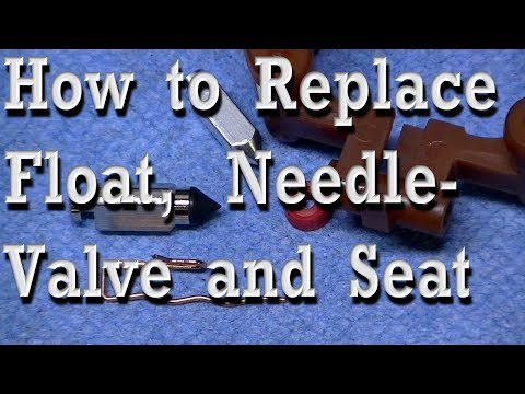 Replacing Float, Needle Valve & Seat in Small Engine Carburetors (Walbro LMT as Example)