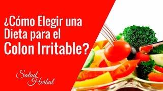 dieta para curar intestino irritable