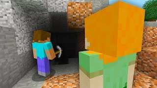 STEVE AND ALEX MINECRAFT - HOW ALEX MET STEVE...