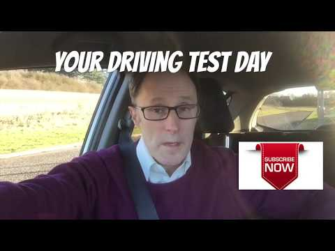 Your driving test day