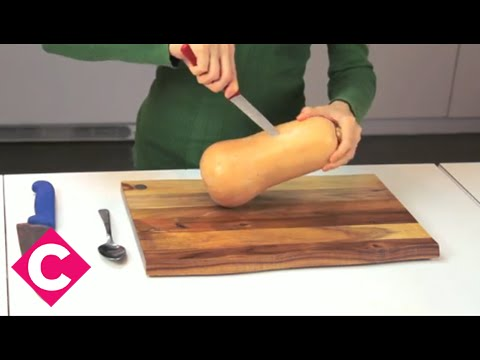 A simple and safe way to cut butternut squash