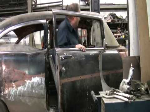 Kenny's RedNeck garage  (1957 Chevy bench seat Fabrication)