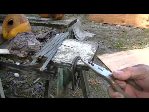 How to make a wire clip plier to build a birdcage