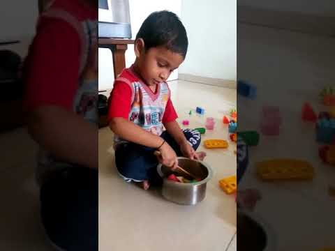 Varan bhat bhaji #kids वरण भात भाजी