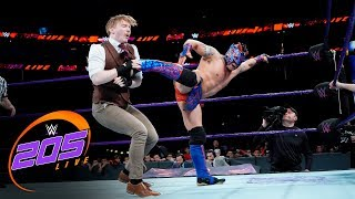 Kalisto & Gran Metalik vs. The Brian Kendrick & Gentleman Jack Gallagher: WWE 205 Live, Dec 19, 2017