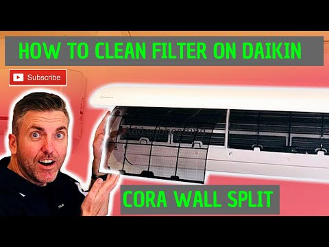 How to clean your Daikin Cora split system filter