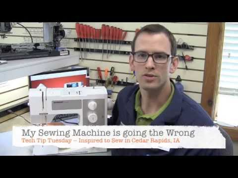 How to fix reverse stitching problem in your sewing machine