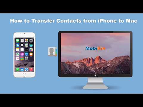 How to Sync Contacts from iPhone to Mac and How to Import Contacts to iPhone - Easy & Free!