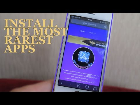 How To GET RARE APPS ON APPSTORE! ( No Jailbreak / No Computer ) iOS 9/10/11 iPhone, iPod, iPad
