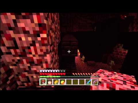 Minecraft Xbox 360 How to Find Nether Fortresses - Blazes