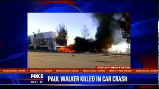 CONFIRMED Paul Walker is Dead   Fast and Furious  actor Paul he was attending a charity