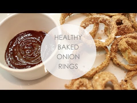 HEALTHY ONION RINGS! #AWESOMEAUGUST DAY 10!