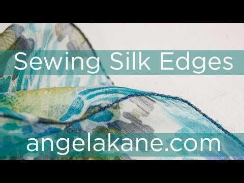 Sewing, Make Your Own Clothes, Finishing Edges with Angela Kane