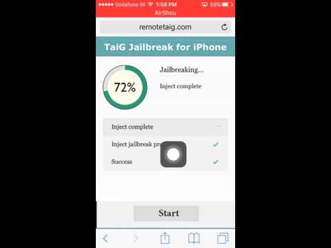 How to jailbreak any ios  (without pc) 2018