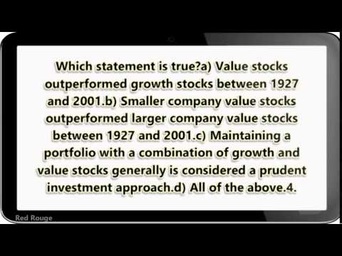 Growth And Value What S The Difference