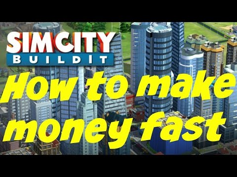 How to make money fast in SimCity BuildIt (No hack)