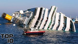 Top 10 Cruise Ship Disasters
