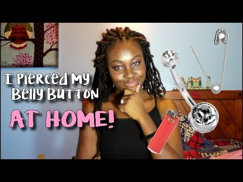 STORYTIME: I PIERCED MY OWN BELLY BUTTON AT HOME!
