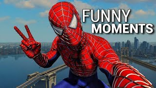 Download Spider-Man PS4 Funny Moments #3 Into the Spider-Verse Video