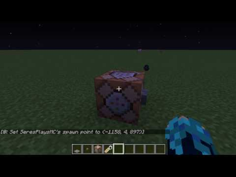 Minecraft - How To Make An Easy Checkpoint!
